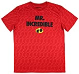 Disney Incredibles Men's Mr. Incredible Athletic Polyester Tee (Large)