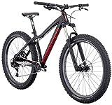 "Diamondback Bicycles Mason 27.5 Plus Hardtail Mountain Bike, 17""/Medium, Black"