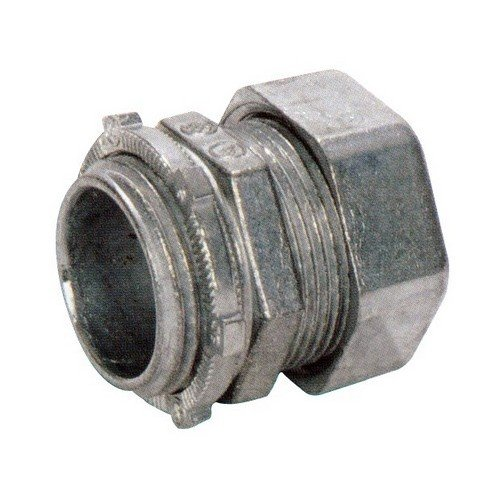 Emt Diecast Zinc Compression Connector - Morris Products 14911 EMT Compression Connector, Zinc Die Cast, 3/4