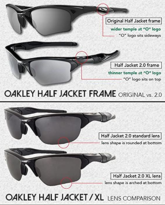d1cf2dbbfe ... LenzFlip Replacement Lenses Compatible with Oakley HALF JACKET 2.0 XL  Sunglasses - Crafted in the USA ...