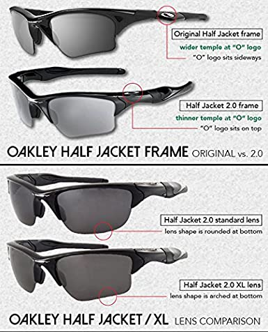 Half Jacket 2 0 >> Lenzflip Replacement Lenses Compatible With Oakley Half Jacket 2 0 Xl Sunglasses Crafted In The Usa Multiple Options
