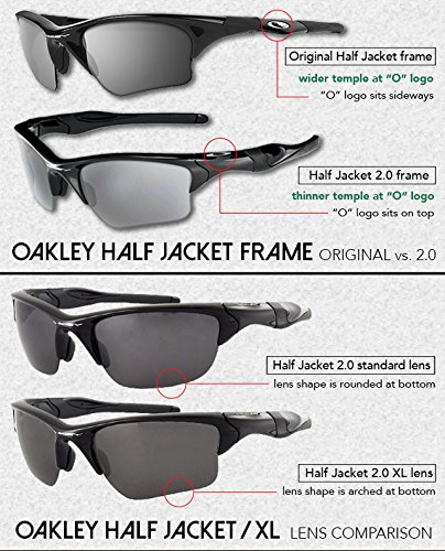 Half Jacket 2 0 >> Lenzflip Replacement Lenses For Oakley Half Jacket 2 0 Sunglass