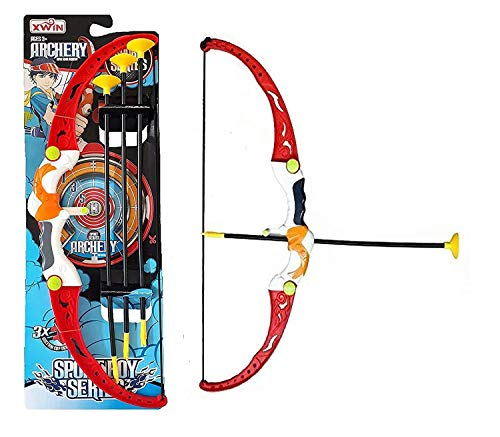2FONZ Toys Shooting Bow & Archery Toy – Sport Boy Series Target Shooting Game Bow & Arrow Toys for Boys|Kids.
