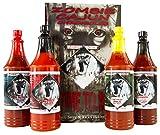 Zombie Cajun Hot Sauce Gift Set, Gourmet Basket