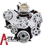A-Team Performance LS LS1 LS2 LS6 FRONT DRIVE SERPENTINE PULLEY KIT GM CHEVROLET CHEVY 5.3 6.0