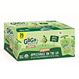 GoGo SqueeZ Organic Applesauce Pouches, 20 ct./3.2 oz. (pack of 6)