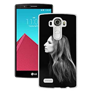 Hot Sale LG G4 Case, Barbra Streisand White LG G4 Cover Unique And High Quality Designed Phone Case