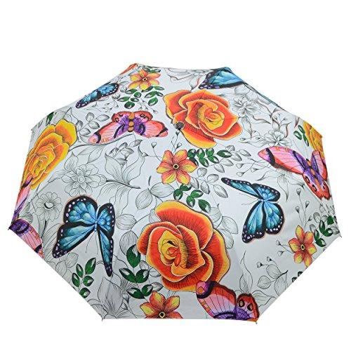- Anuschka Umbrella AUTO Open/Close | UPF 50+ Max Sun protection | 38