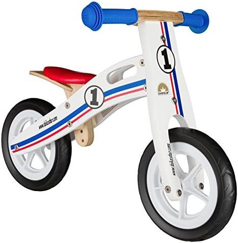 BIKESTAR Bicicleta sin Pedales para niños y niñas | Bici Madera Pulgadas a Partir de 2-3 años | 10