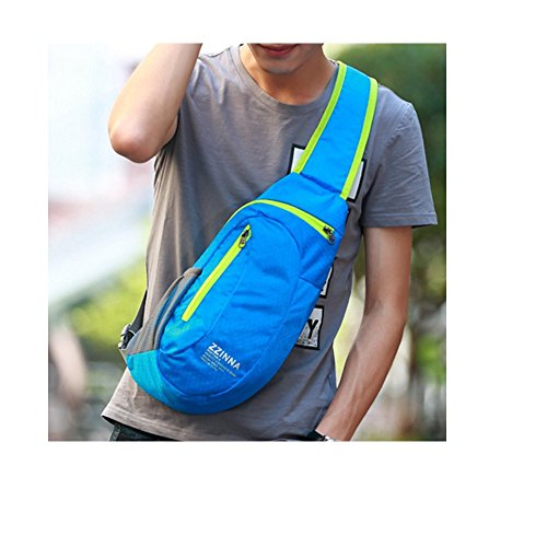 Bag Shoulder Bumbag Messenger Bags A Outdoor Canvas Leisure Chest Waterproof Bag Mens Bag B YIngqZw