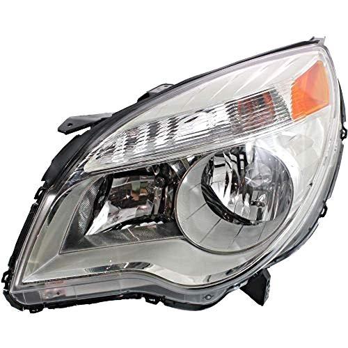 Fits 10-15 Equinox Left Driver Halogen Headlamp Assem W/Projector Beam