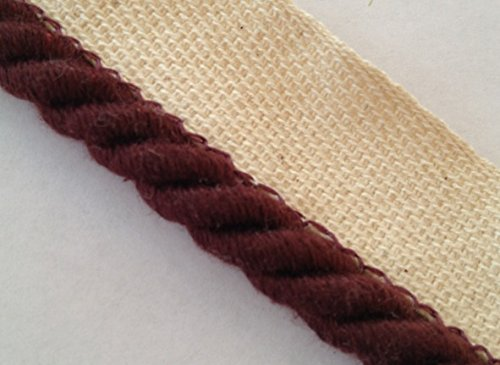 - Instabind Rope Edge Style Carpet Binding (Crimson)