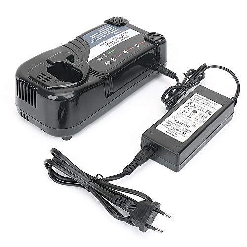REEXBON Battery Charger UC18YRL for Hitachi 7.2V-18V Ni-Cd/Ni-MH/Li-ion Batteries, Ideal for FEB7S FEB9S FEB12S EB1214L EB1214S EB1220BL EB1212S EB1412 322435 (Battery not Included)