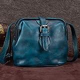 Best DR Messenger Bags - Retro Bag Cowhide Handbags Mini Bag Small Bag Review