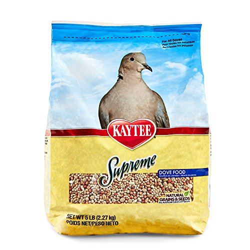 Kaytee Supreme Bird Food for Doves, 5-lb bag(Packaging May Vary) by Kaytee
