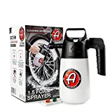 Adam's 1.5 Pump Foaming Sprayer 35oz - Rugged Construction and Easy to Use Design - Foam Your Vehicle with Your Favorite Car Wash Soap, Wheel Cleaner, Degreaser, All Purpose Cleaner, and More