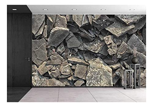 Rock Texture Background Wall Mural Decor