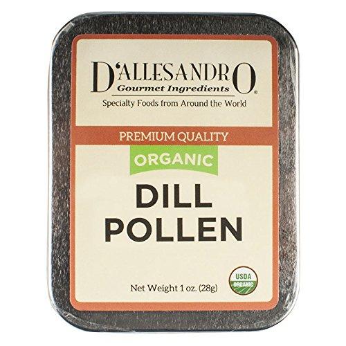 Organic Dill Pollen, 1 Oz Tin by Angelina's Gourmet