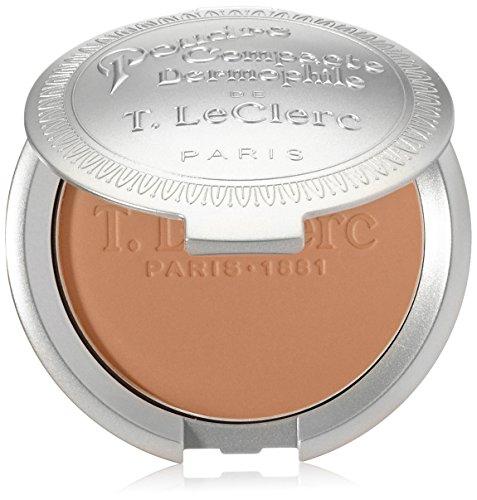T. LeClerc Poudre Compacte Dermophile Pressed Powder Safran ()