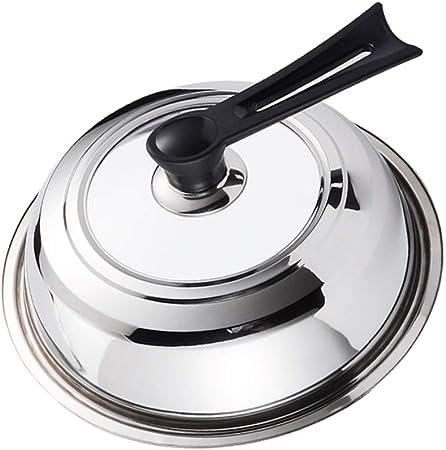 Coperchio per padelle in Vetro Universale in Pan visibile Vetro Trasparente Casseruola Rotondo Copertura Padelle Wok Sostituire Pot Coperchi for la Cucina Size : 12cm