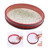 difcuyg5Ozw 10 Inch Ocean Wave Drum Durable Gentle Sea Sound Kids Percussion Musical Instrument Toy - Red
