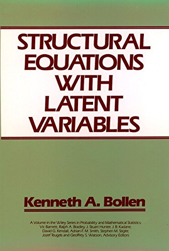 Download Structural Equations with Latent Variables (Wiley Series in Probability and Statistics) Pdf