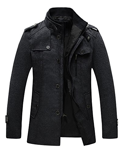 Back To Search Resultsmen's Clothing Energetic 2018 Autumn Winter Trend Mens Woolen Jackets Trench Coat Men Outwear Collars Windbreaker Woolen Business Casual Overcoat Homme 100% Original Wool & Blends