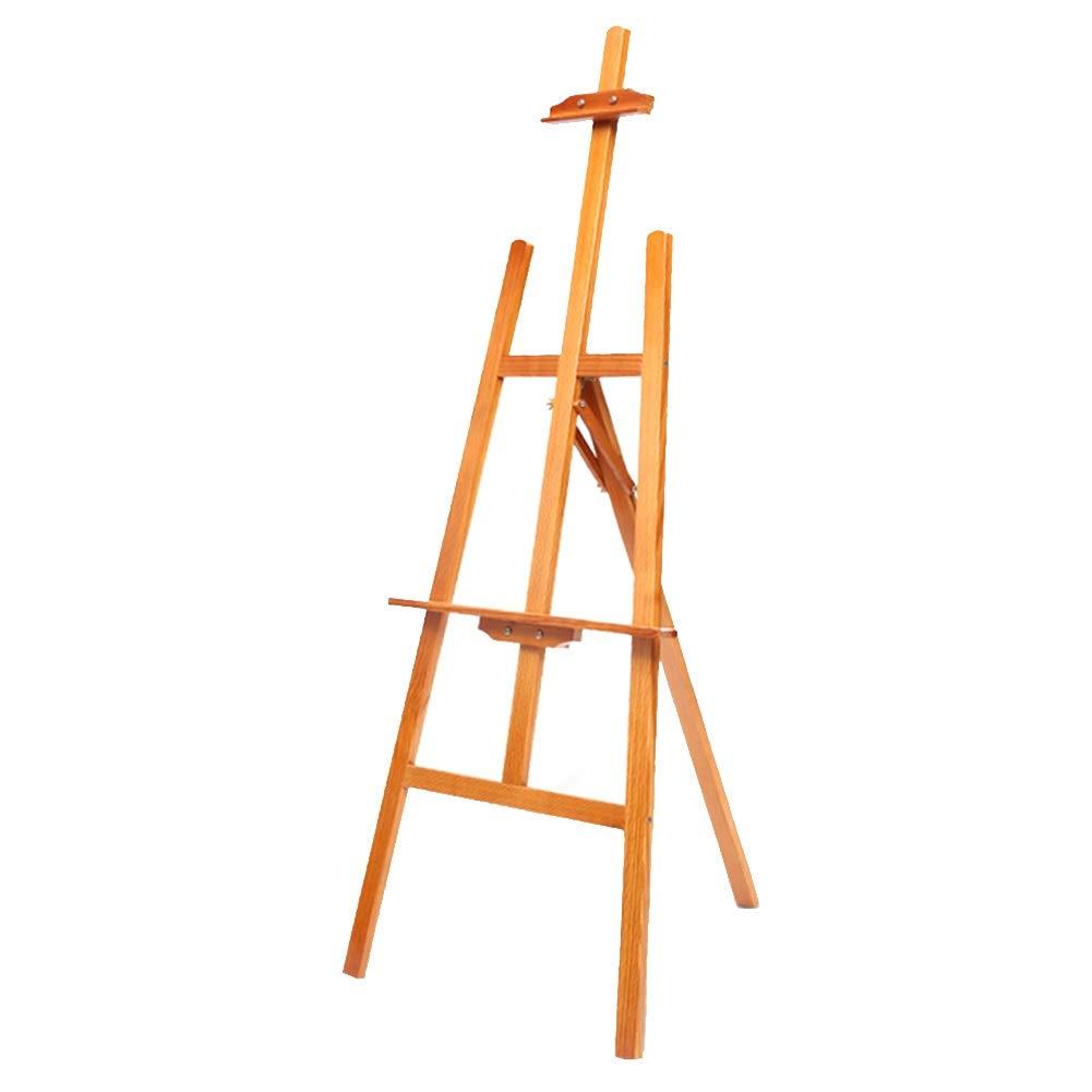 YY イーゼルスタンド調整可能な木製イーゼル塗装ラック YY -、三脚多機能スタジオアーティストフロアイーゼル - ライトウォールナット色 B07NYX5JYY B07NYX5JYY, 六郷町:b54e32ac --- ijpba.info