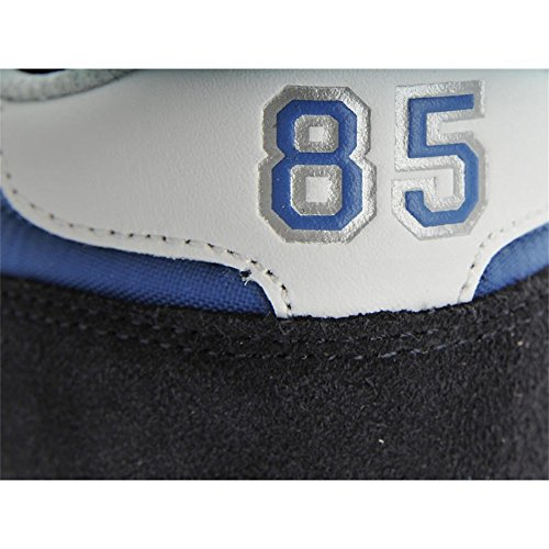 Tommy Hilfiger - Zapatillas para deportes de exterior de Piel para hombre blanco turquesa 41 turquesa