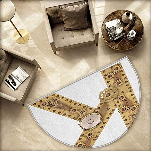 Letter K Half Round Door mats Letter with Cyberpunk for sale  Delivered anywhere in Canada