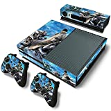 Mod Freakz Console and Controller Vinyl Skin Set - Cool Motorcycle Rider for Xbox One