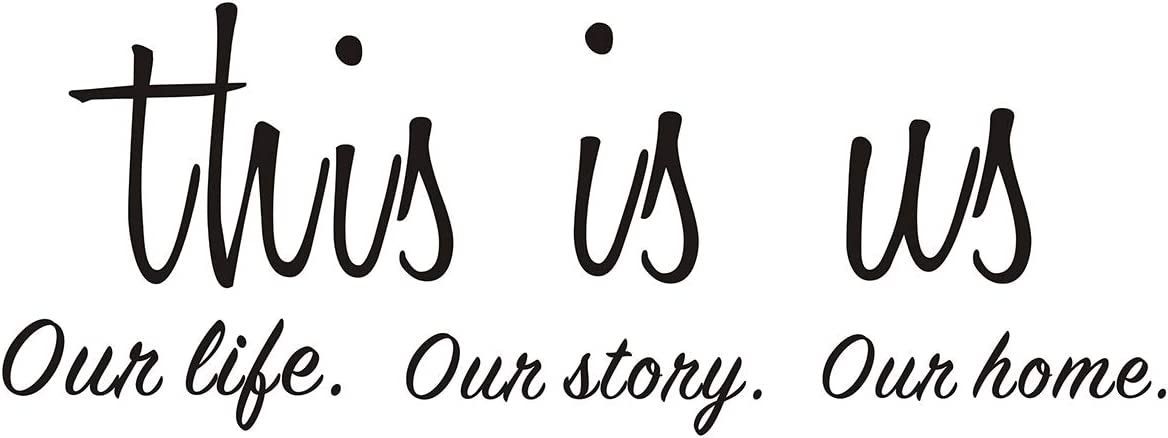 This is Us Our Story Our Life Our Home Family Wall Decals Love Quote Vinyl Wall Lettering Home Décor Vinyl Quotes Wall Art