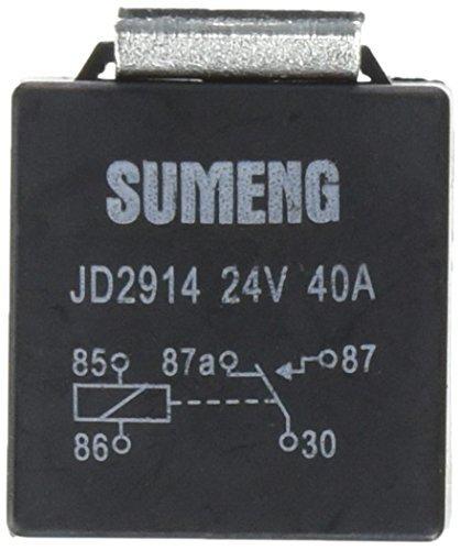 DealMux DC 24V 40 Amp 1NO+1NC SPDT 5 Pin JD2914 Type Auto Car Relay (10 Piece) DLM-B00E6QJI2K