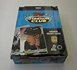 1991/92 Topps Stadium Club Hockey Box