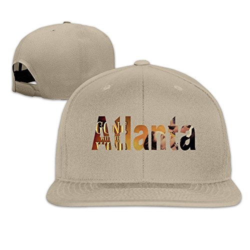 runy-custom-atlanta-adjustable-baseball-hat-cap-natural