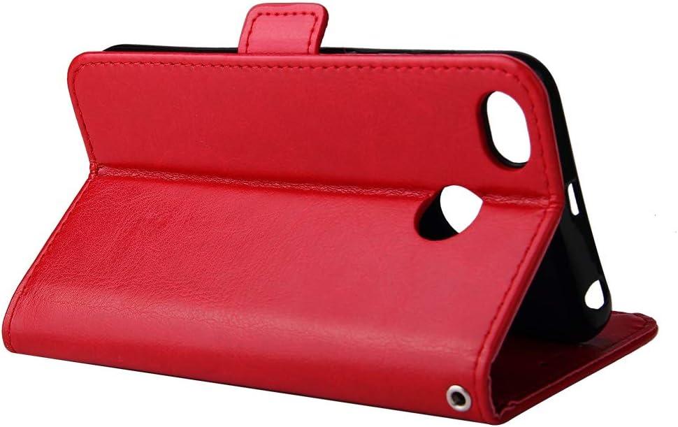 FNBK Kompatibel mit H/ülle Xiaomi Redmi 4X Handyh/ülle Leder Handytasche Rei/ßverschluss Brieftasche Flip Case Slim Luxus Schutzh/ülle Handschlaufe Kredit Karten Magnetische St/änder,Gold