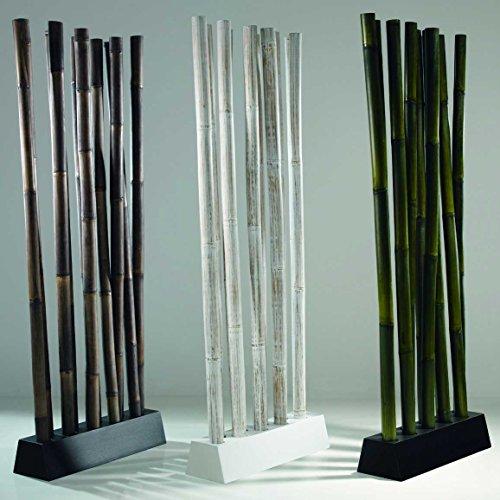Mobel Bressmer Raumteiler Bambus Schwarz Awi Spanische Wand Paravent
