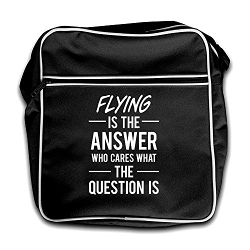 Answer Red Flying The Black Is Retro Bag Flight vUqBHwEq