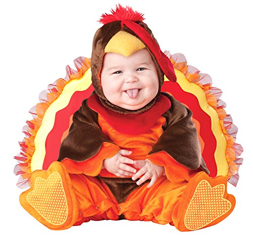 SALES4YA Baby-Toddler-Costume Lil Gobbler Inf 6-12 Mon Halloween ()