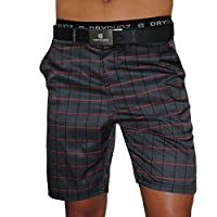 Dry Dudz Men's Boardshorts or Swim Trunks, Men's Athletics Shorts, Men's Golf Shorts or Men's Swim Shorts (Plaid)