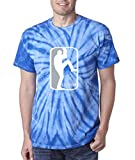 "Silo Shirts TIE DIE BLUE Clayton Kershaw Los Angeles ""LOGO"" T-Shirt"