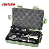 Flashlight,LandFox Super Bright XM-L T6 Shadowhawk LED Adjustable Focus Torch Zoomable Flashlight +Battery+Charger