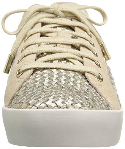 Joie Womens Duha Fashion Sneaker Bianco / Oro
