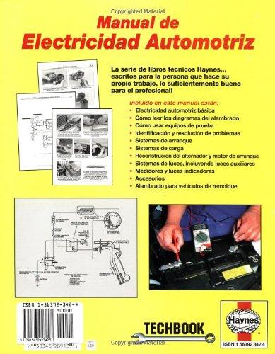 Automotive Electrical Manual (Spanish) (Haynes Repair Manuals)