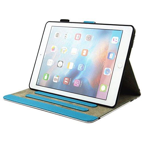 inShang iPad iPad Pro 10.5 Fundas soporte y carcasa para iPad Pro 10.5 inch ((2017 Release) , smart cover PU Funda con Patrón de Diamante + clase alta 2 in 1 inShang marca negocio Stylus pluma dusk
