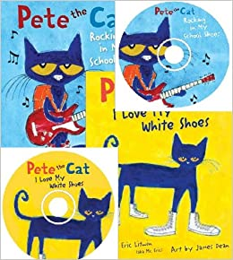 Pete The Cat White Shoes Book And Cd