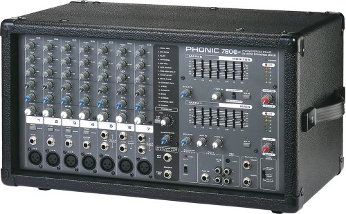 7 Channel Powered Mixer - 2