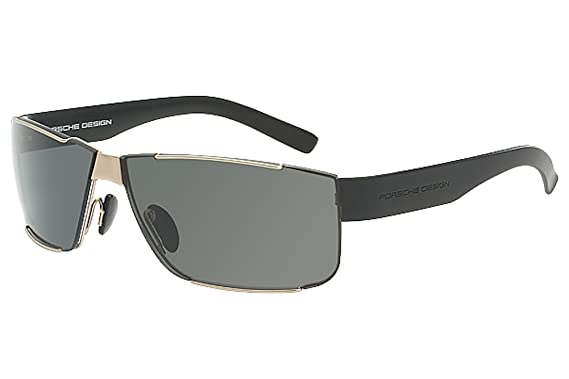 ffa1877201ba Porsche Design Men s P 8509 P8509 B Matte Light Gold Blue Sport Sunglasses  64MM