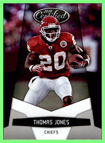 Jones Thomas Football Nfl (2010 Certified #75 Thomas Jones KANSAS CITY CHIEFS VIRGINIA CAVALIERS)