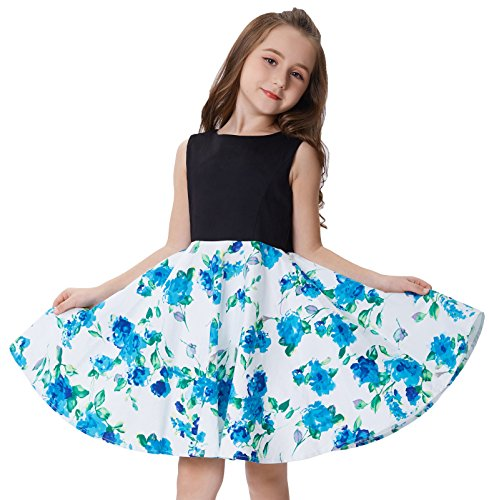 Party Pageant Unique Design Dresses for Little Girls